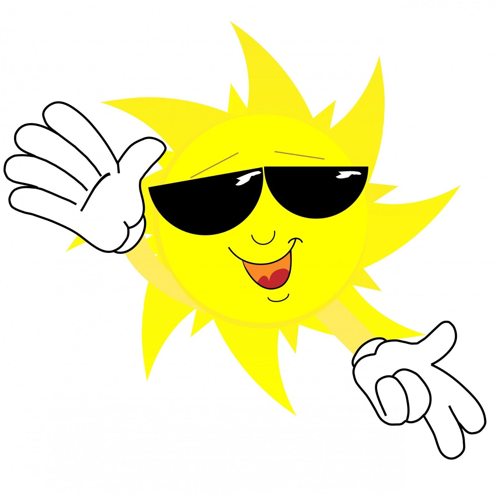 happy sun face cartoon 1374086333WNS